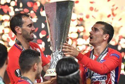 Atletico Madryt po triumfie w Lidze Europy