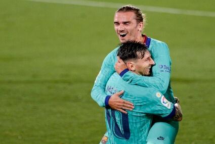 Griezmann i Messi