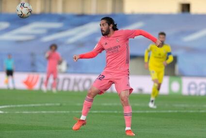 Isco w barwach Realu Madryt
