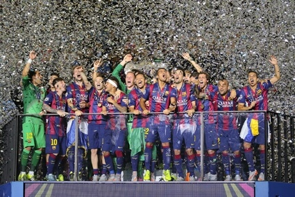 Finał LM: Barcelona - Juventus