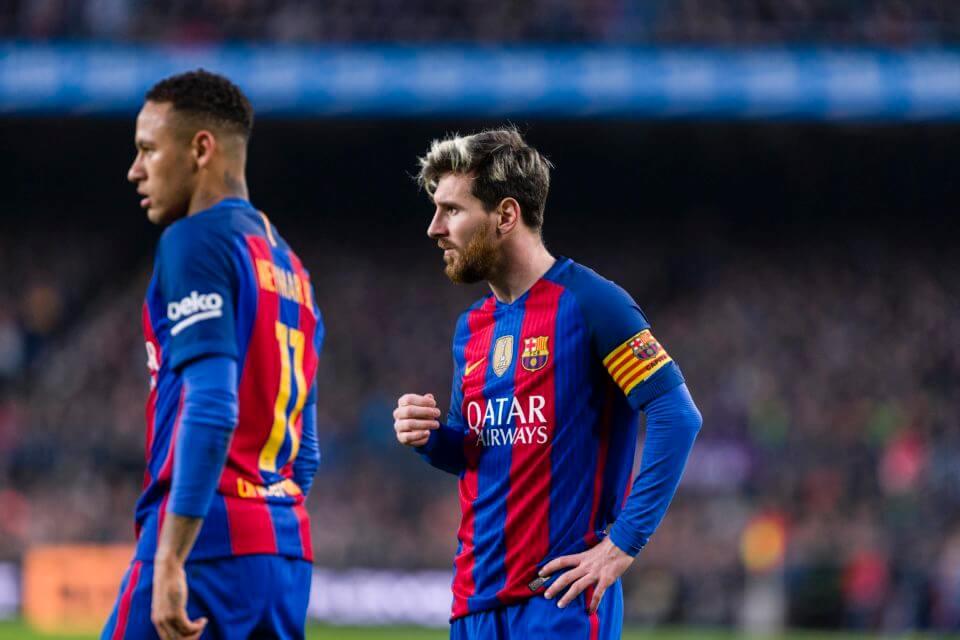 Neymar i Messi