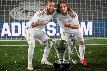 Modrić i Ramos
