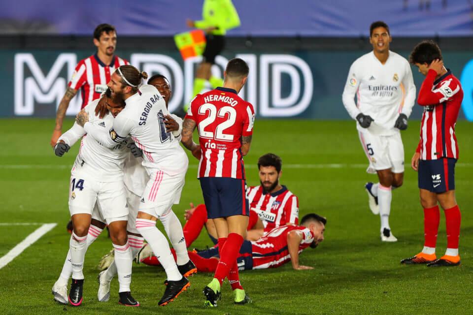 Sergio Ramos i Casemiro po golu na 1:0