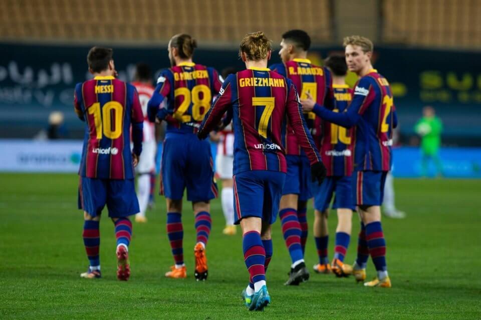 Barcelona w meczu z Athletikiem