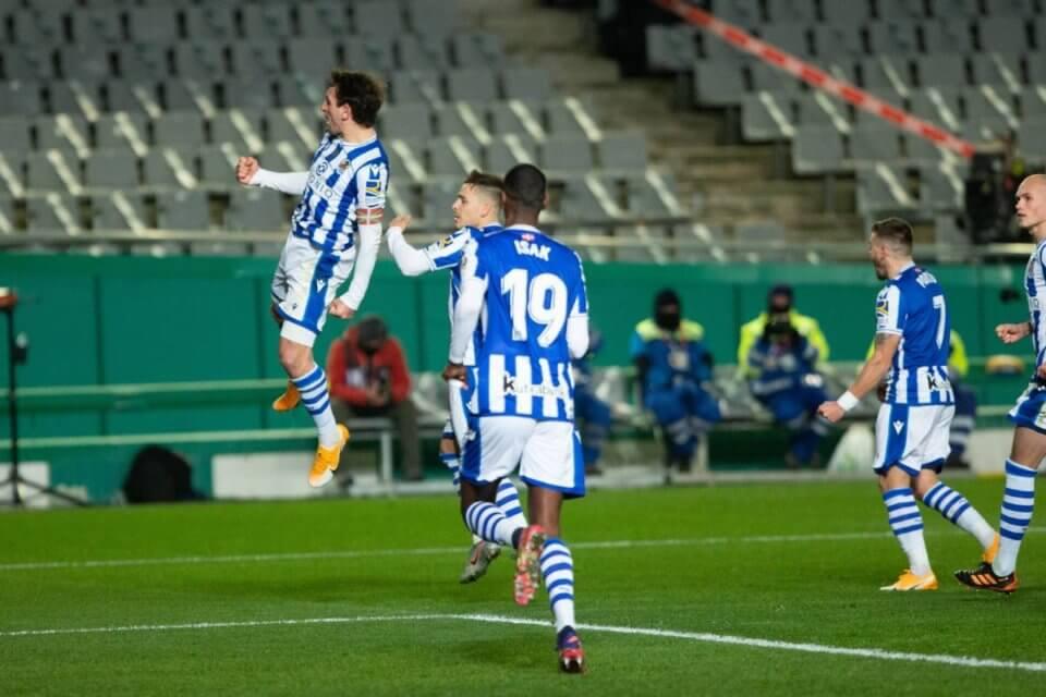 Piłkarze Sociedad