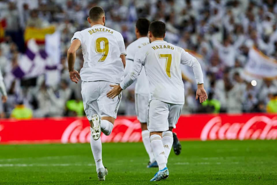 Karim Benzema i Eden Hazard