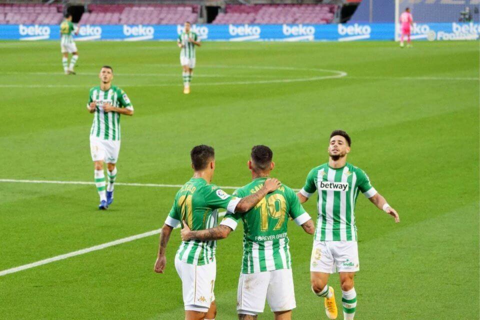 Piłkarze Realu Betis