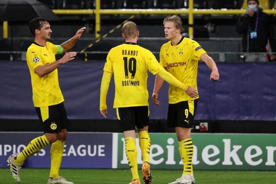 Piłkarze Borussi Dortmund