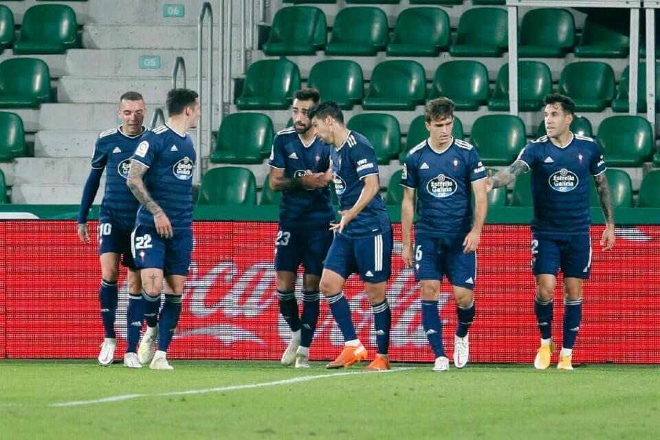 Zawodnicy Celty Vigo