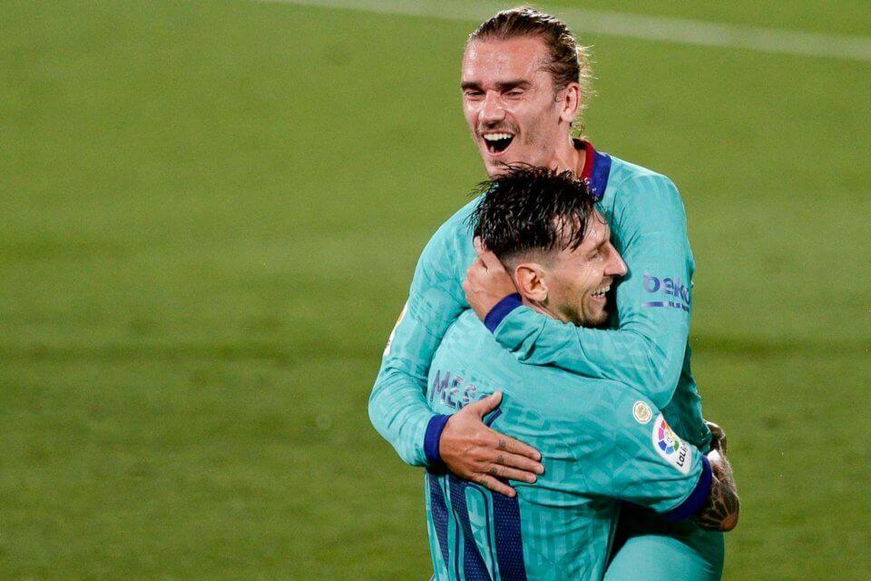 Antoine Griezmann i Leo Messi