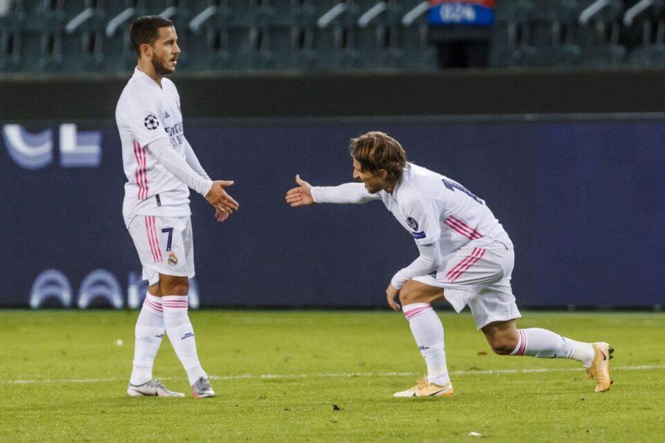 Eden Hazard i Luka Modrić