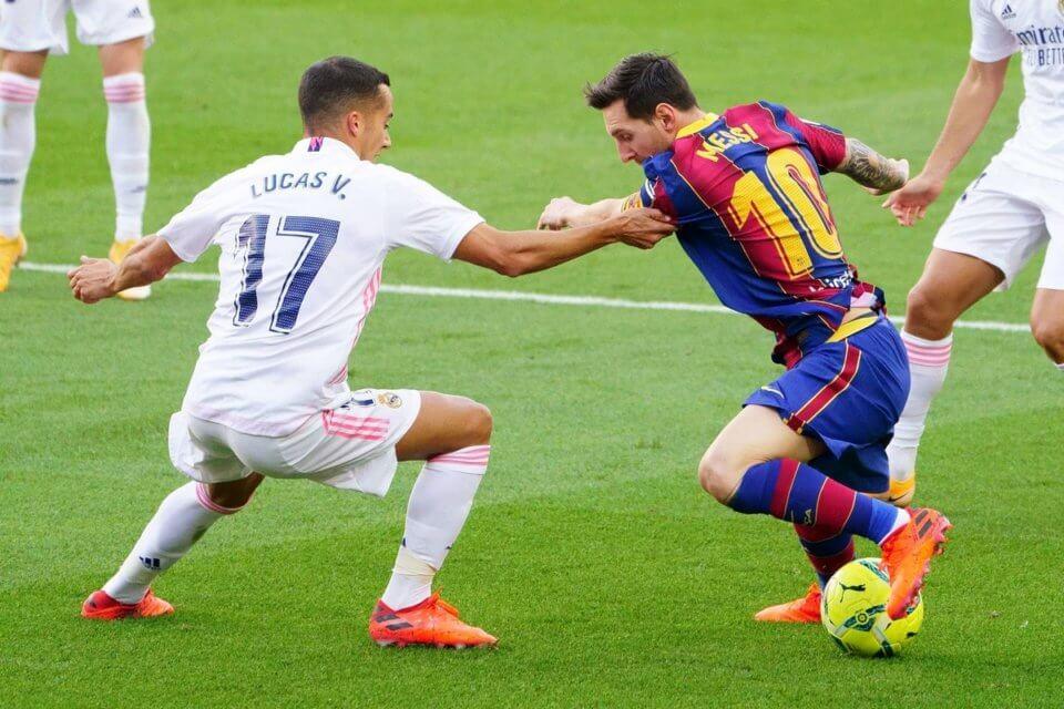 Lucas Vazquez i Leo Messi