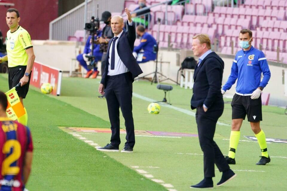 Zidane i Koeman
