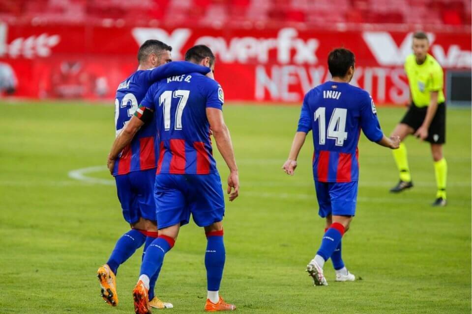 Zawodnicy Eibar