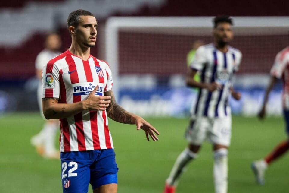 Mario Hermoso w meczu z Realem Valladolid