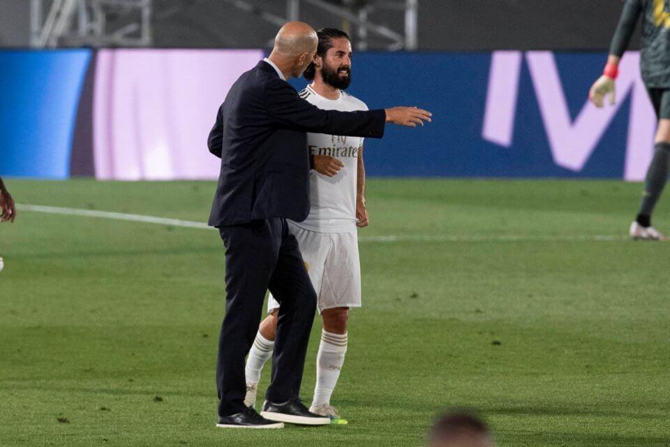 Zidane i Isco