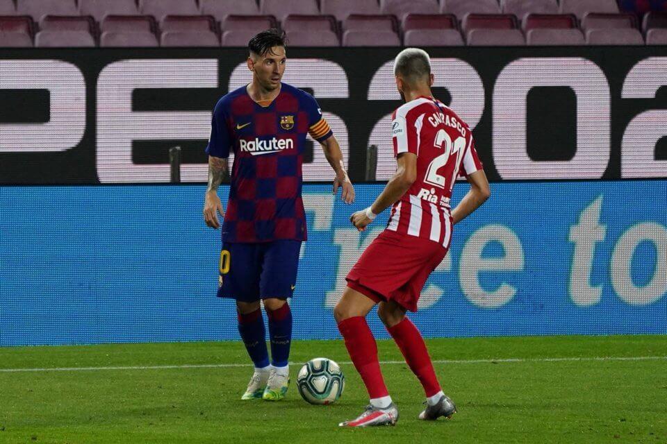 Lionel Messi i Yannick Carrasco