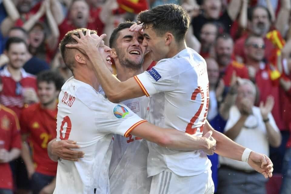 Zwycięska reprezentacja Hiszpanii