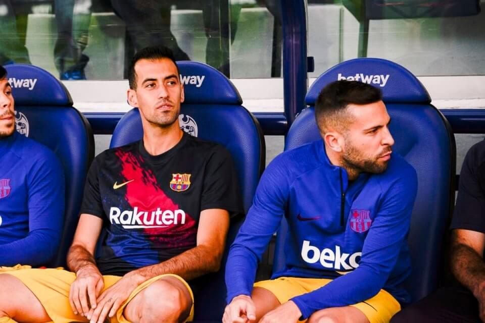 Sergio Busquets i Jordi Alba